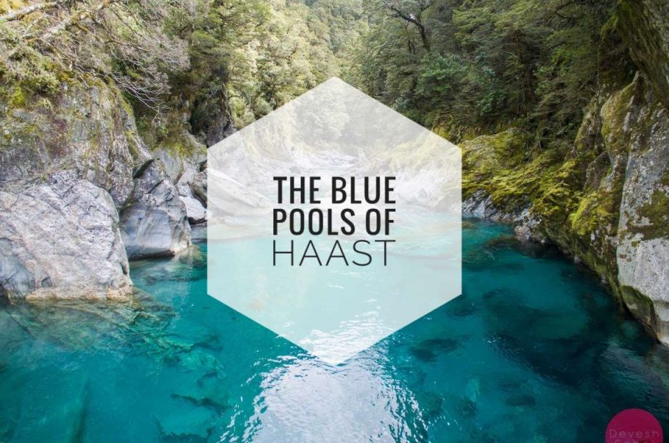 Journey To The Blue Pools Of Haast