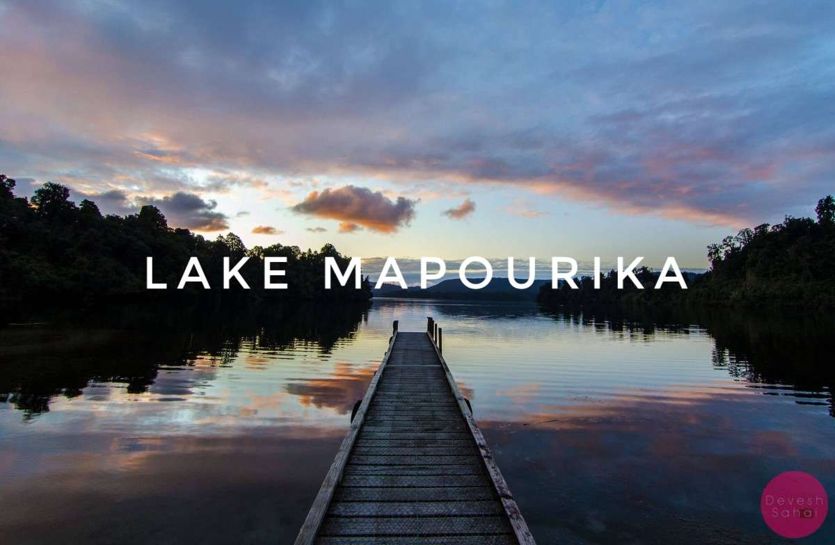 Sunsets At Lake Mapourika, New Zealand