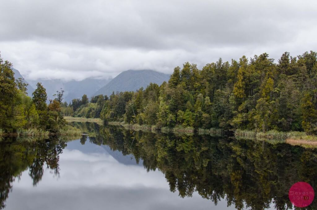 The gorgeous Lake Matheson