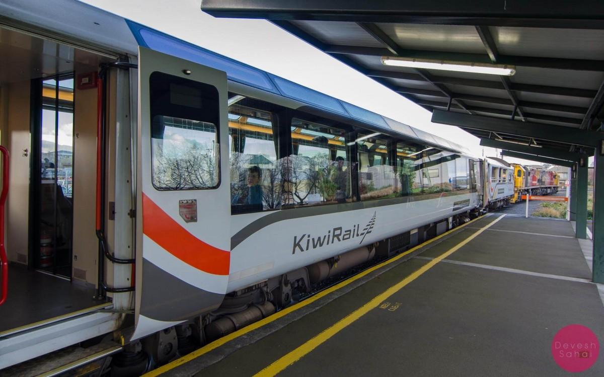 The TranzAlpine Train
