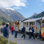 Arthur's Pass, The TranzAlpine Train