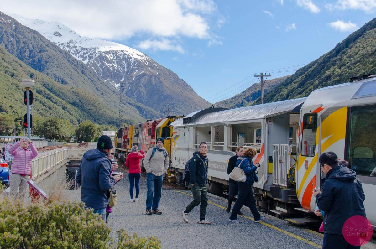Arthur's Pass, The TranzAlpine Train