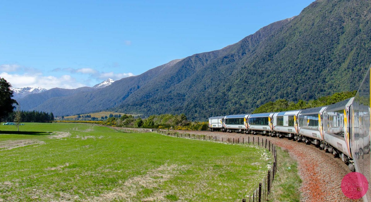 Scenic train journeys around the world: TranzAlpine