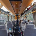 Inside the TranzAlpine Train