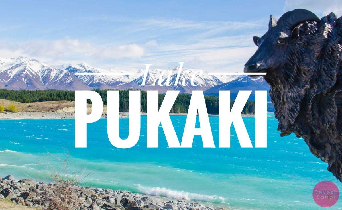 The Most Beautiful Lake In New Zealand - Lake Pukaki