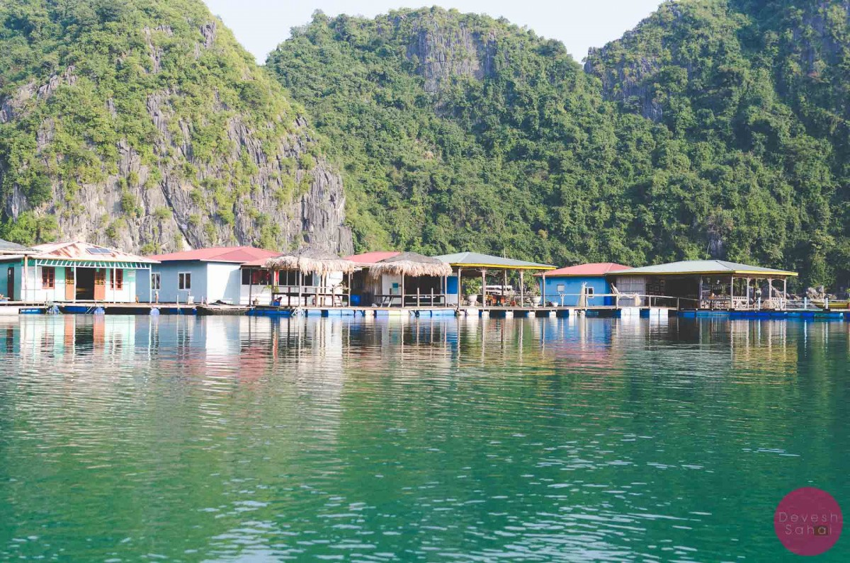 floating village ha long bay vietnam
