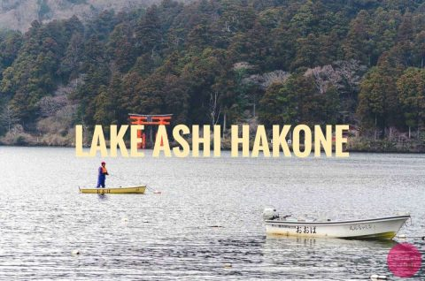Spending Time At Lake Ashi, Hakone