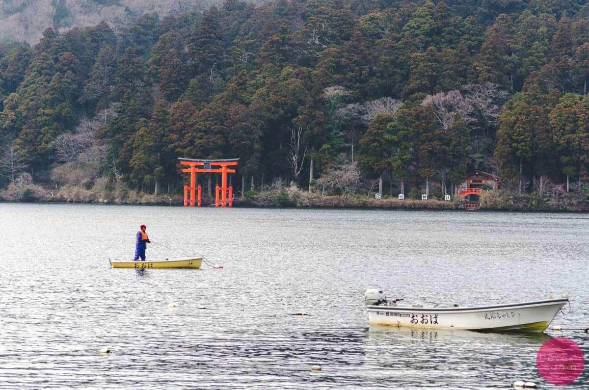 Spending Time At Lake Ashi, Hakone