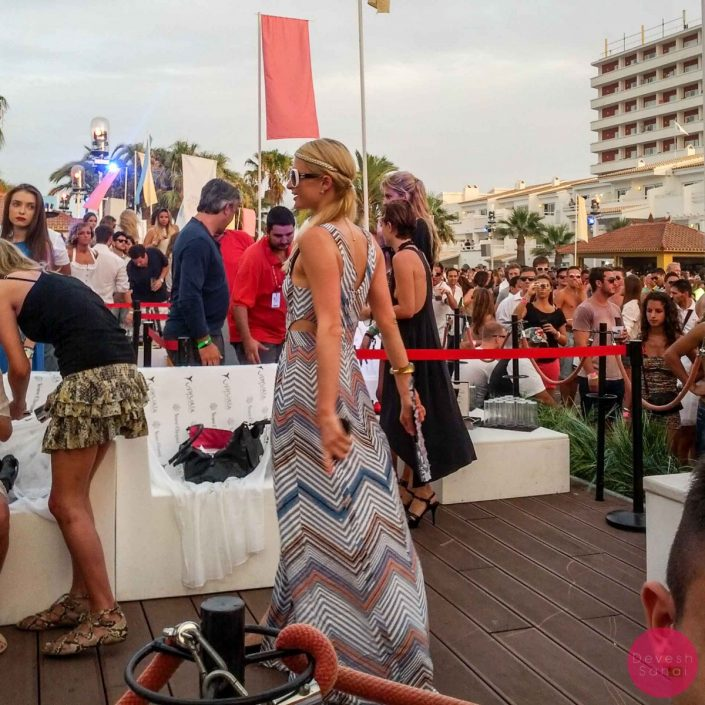 The Time I Saw Paris Hilton At A Swedish House Mafia Concert At Ushuaia, Ibiza
