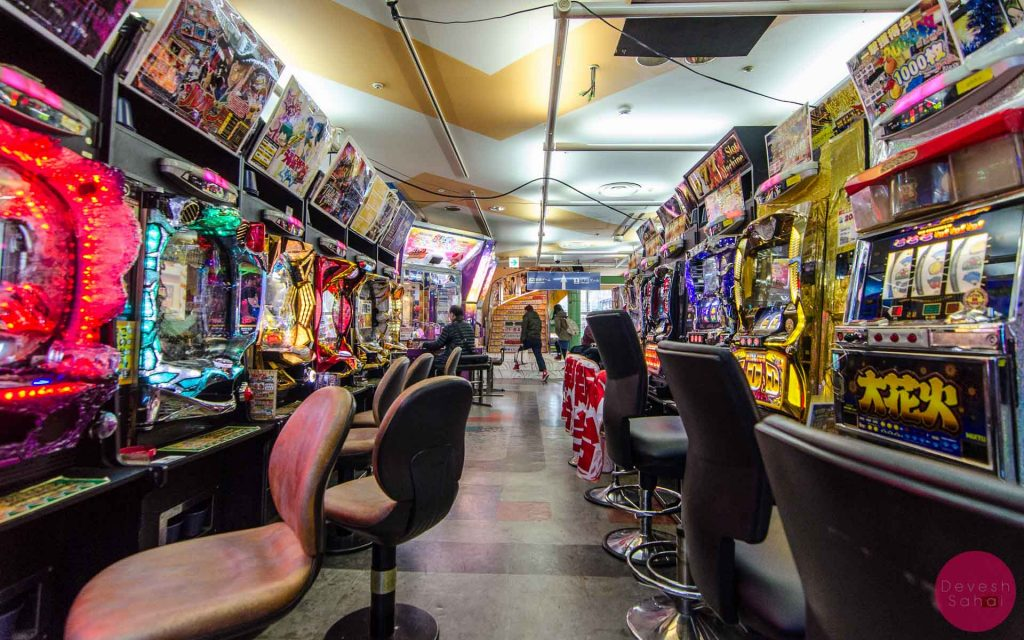 Inside the MANY gaming arcades in Tokyo