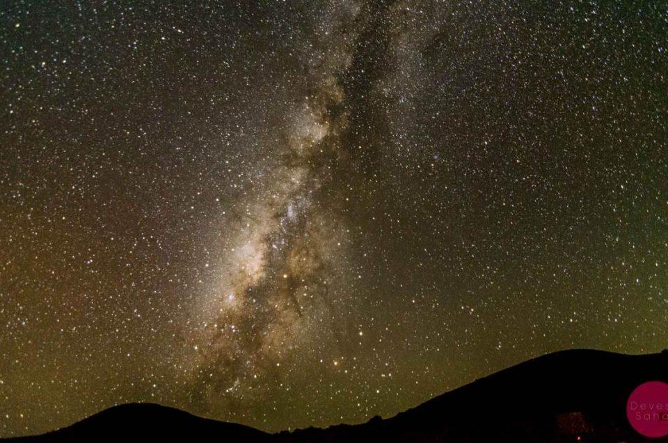 A Beautiful Night Under The Milky Way At Mauna Kea