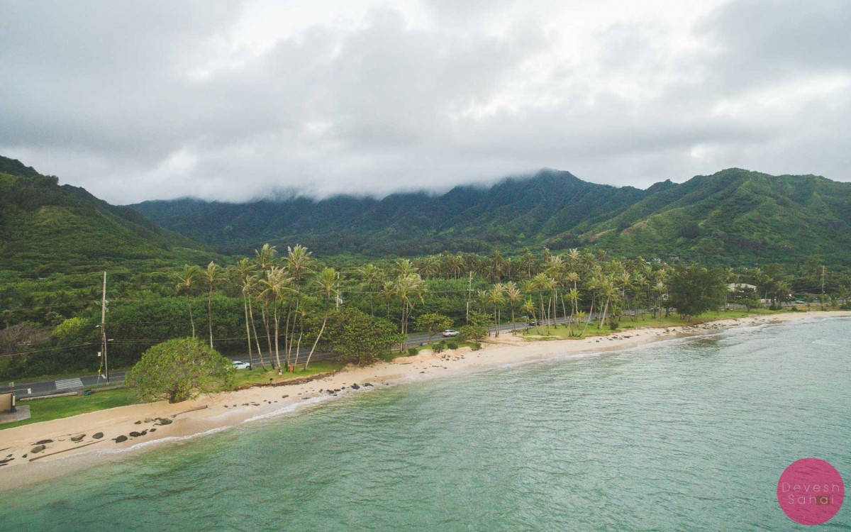Punalu'u Beach on the North Shore, Oahu