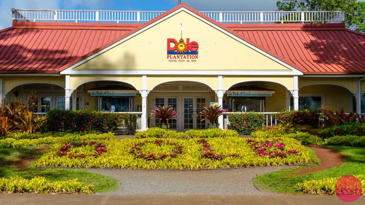 The Dole Plantation in Oahu