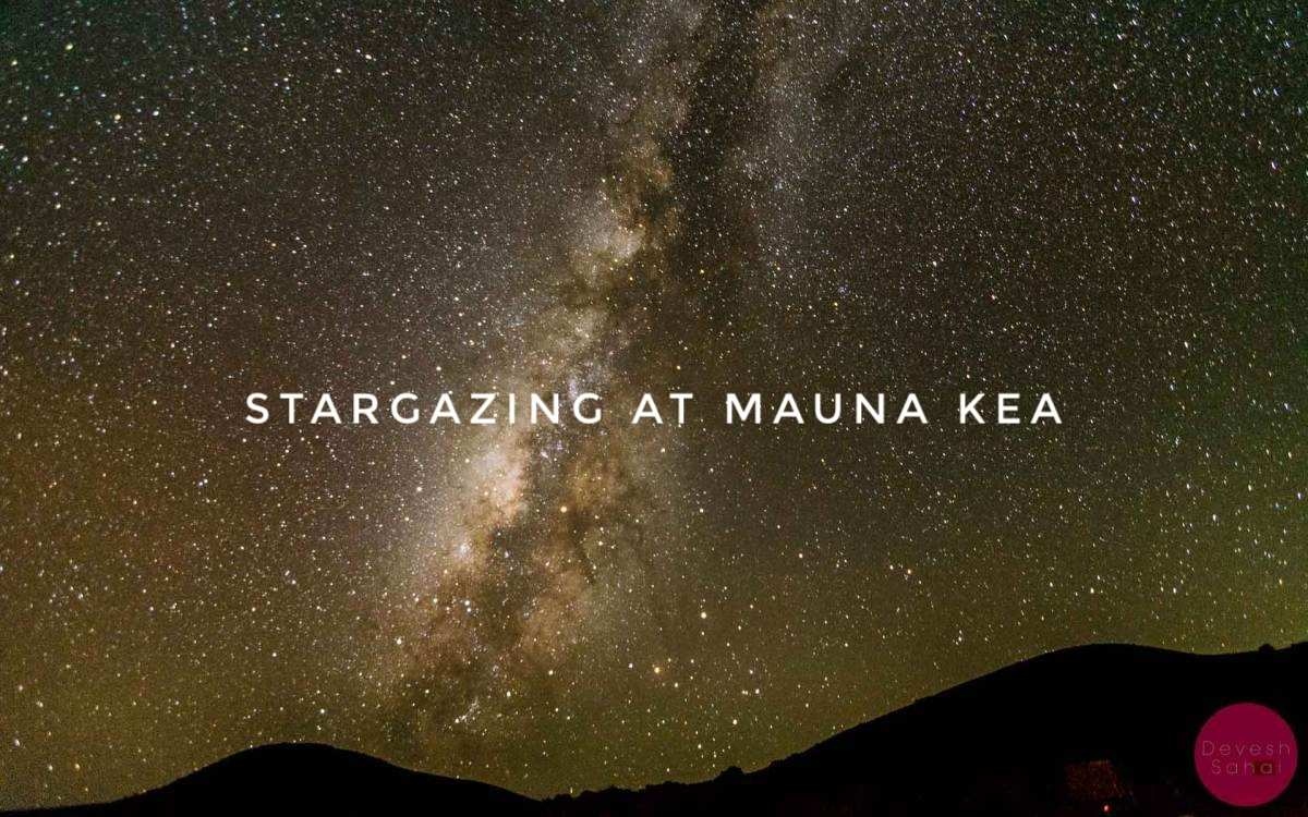 A Beautiful Night Under The Milky Way At Mauna Kea