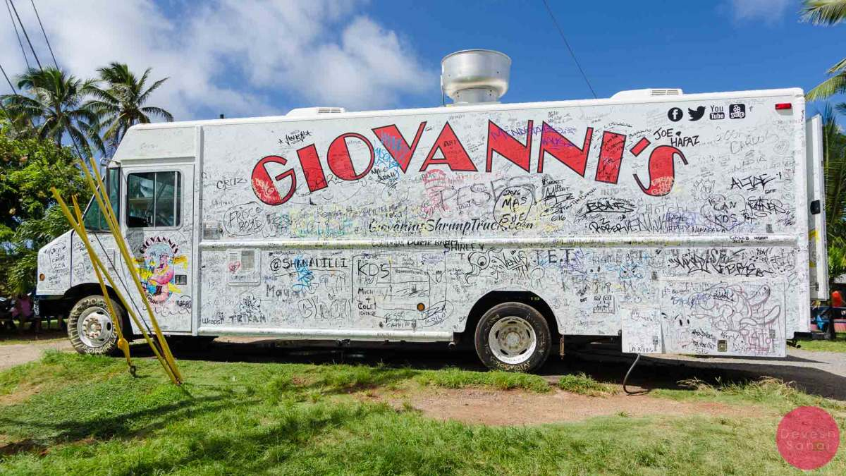 The legendary Giovanni's Shrimp Truck