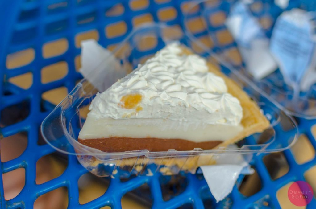 The uber delicious cream pie at Ted's Bakery