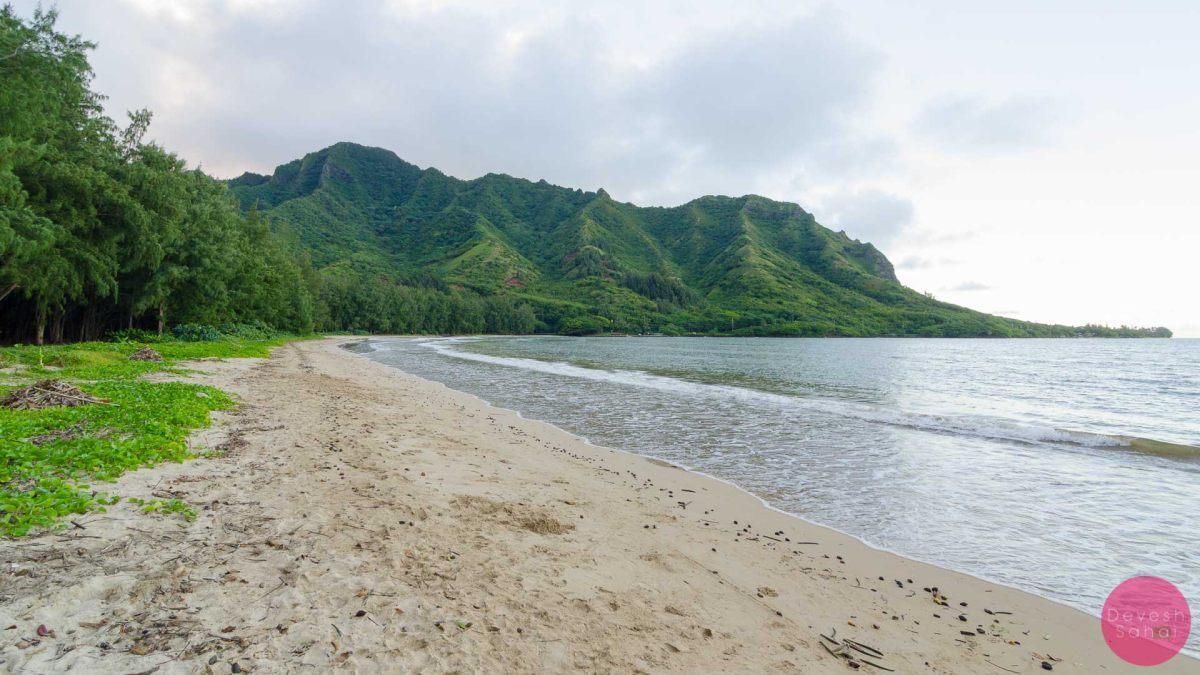 Kahana Bay Beach Park, North Shore, Oahu