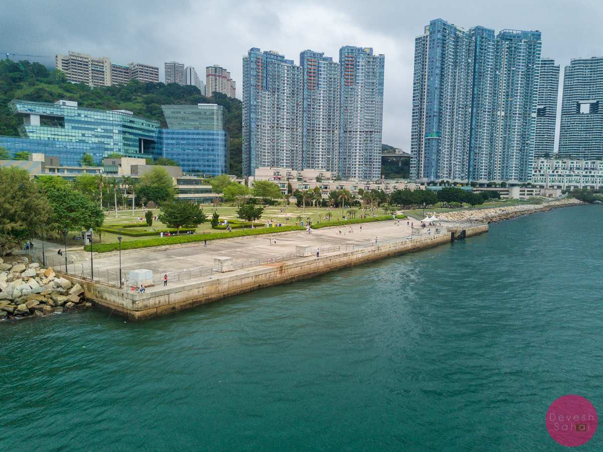 cyberport waterfront park