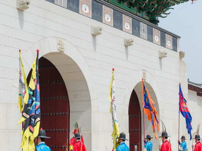 changing of the guards gyeongbokgung palace