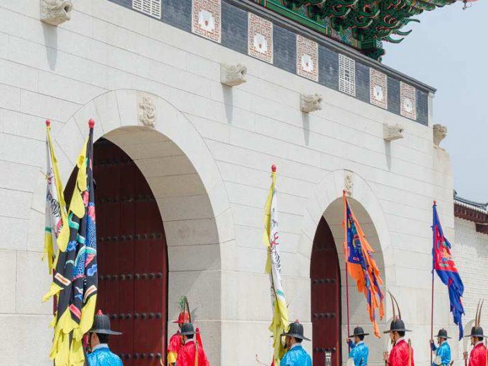 changing of the guards gyeongbokgung palace
