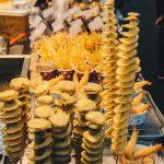street food vendors myeong-dong seoul