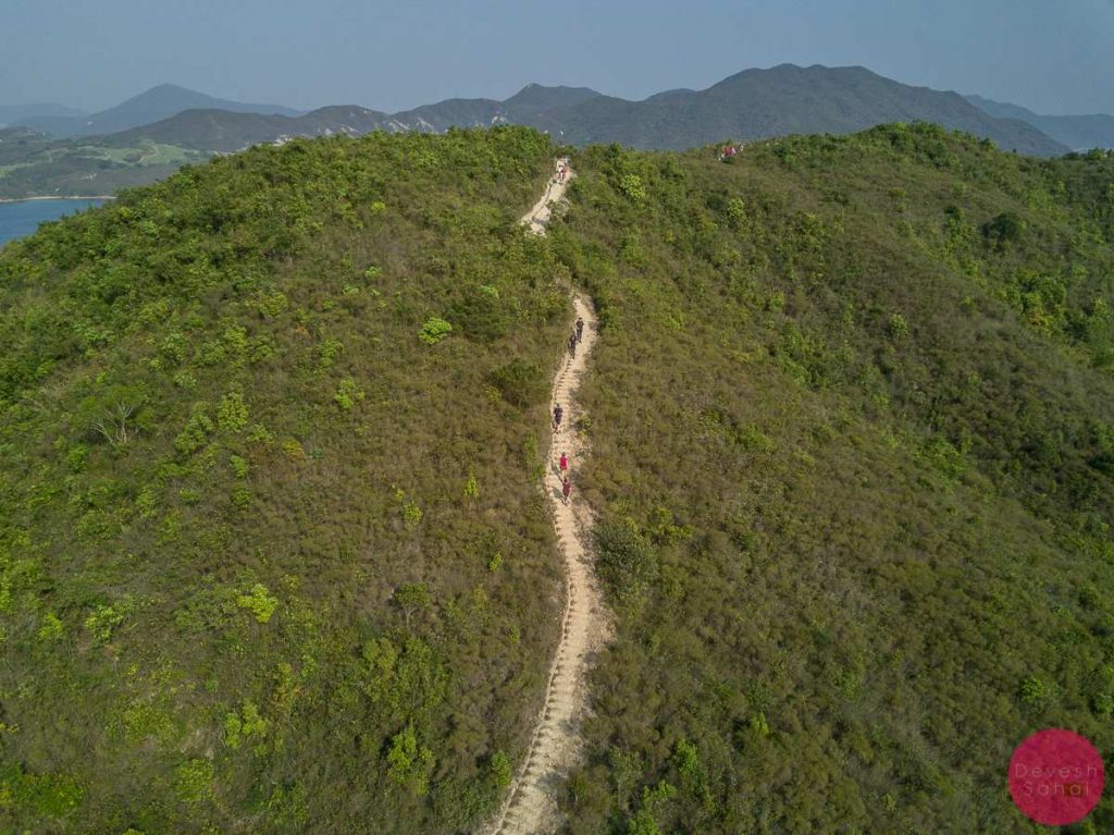 sharp island hiking path