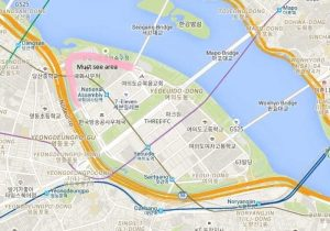 yeouido park must see area map