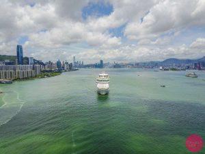 royal caribbean cruise ship hong kong harbour