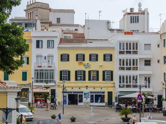 plaza espana mahon menorca