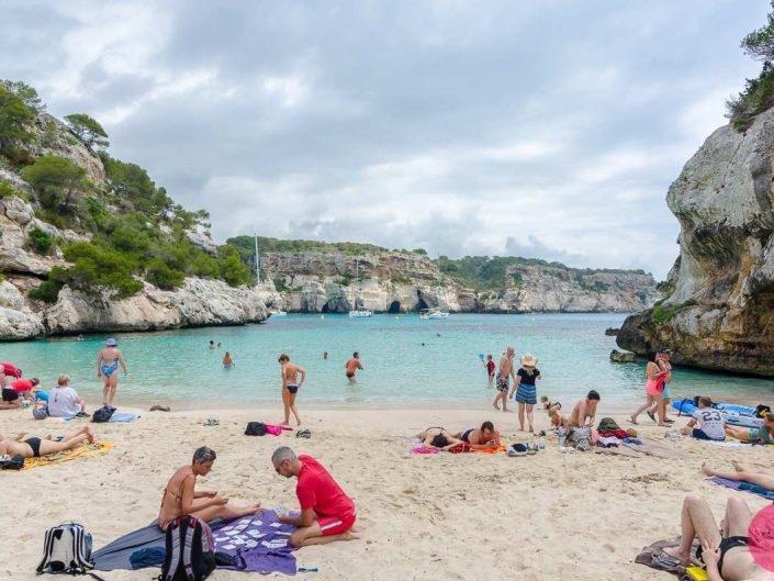 Cala Macarelleta beach menorca