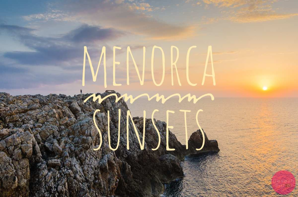 Best Places To Watch The Sunset In Menorca