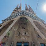 passion facade sagrada familia barcelona