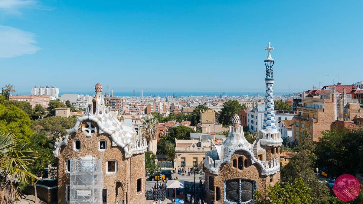 barcelona form parc guell