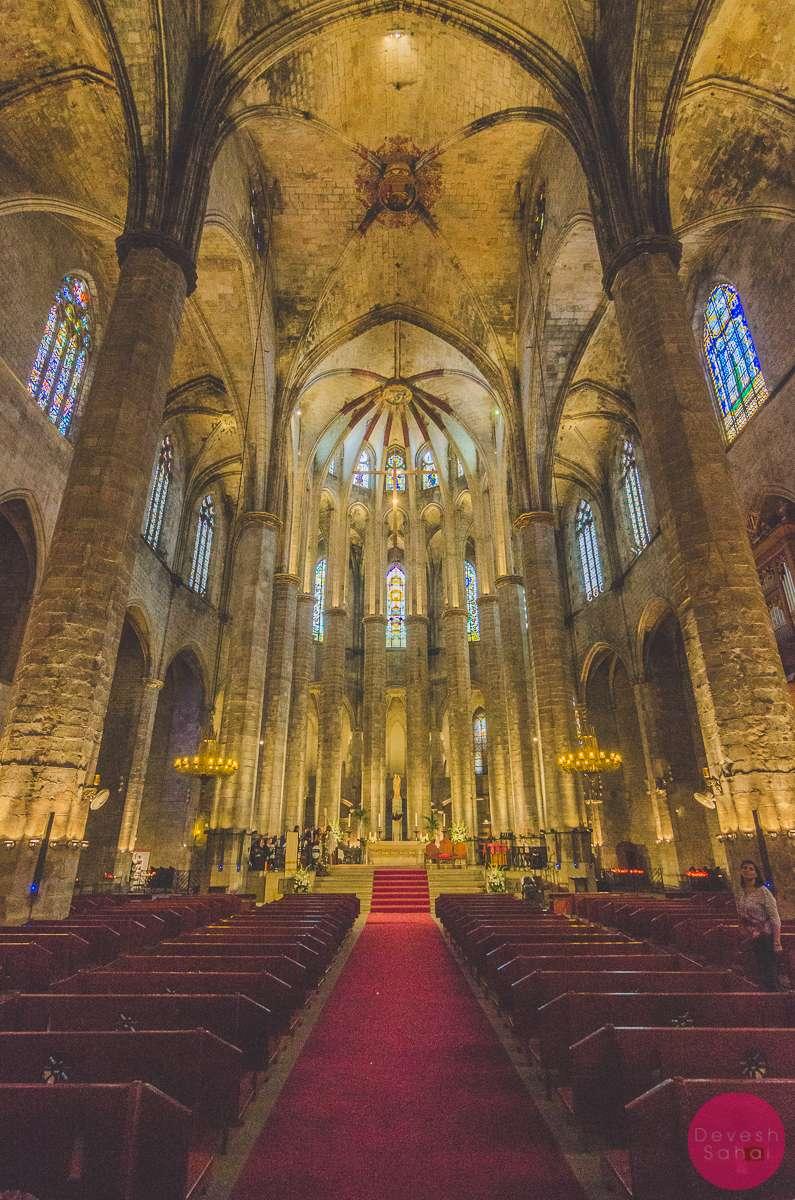 Basílica de Santa Maria del Mar de Barcelona
