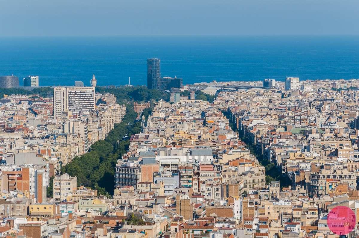 Passeig de Gracia and Passeig de Sant Joan, Barcelona