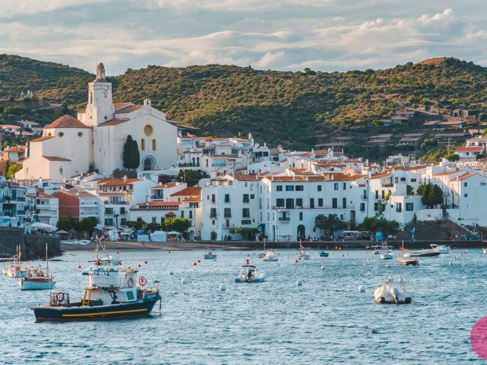 cadaques spain sunset
