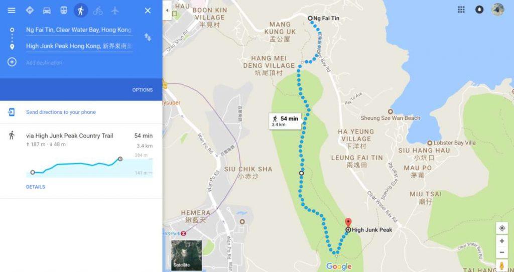High Junk Peak Route
