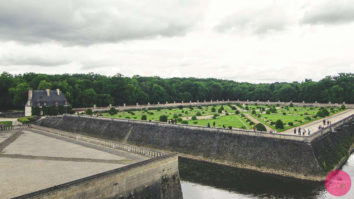 Château de Chenonceau gardens