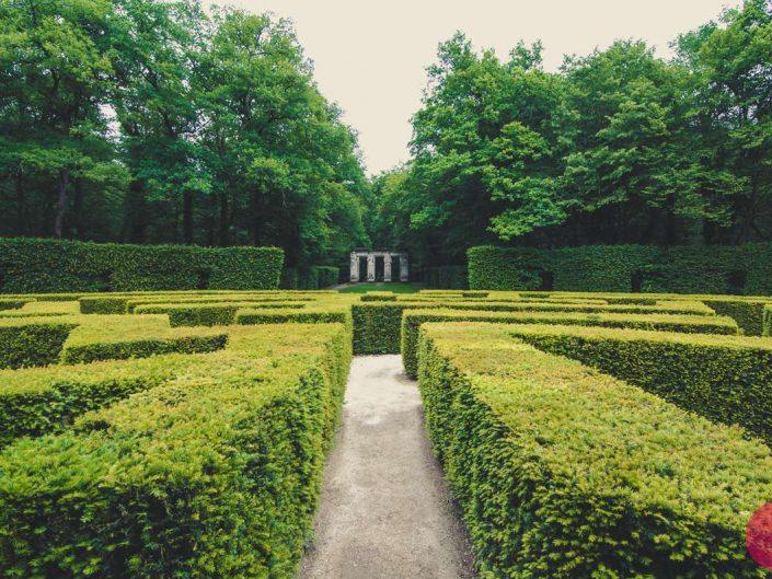 Château de Chenonceau garden maze