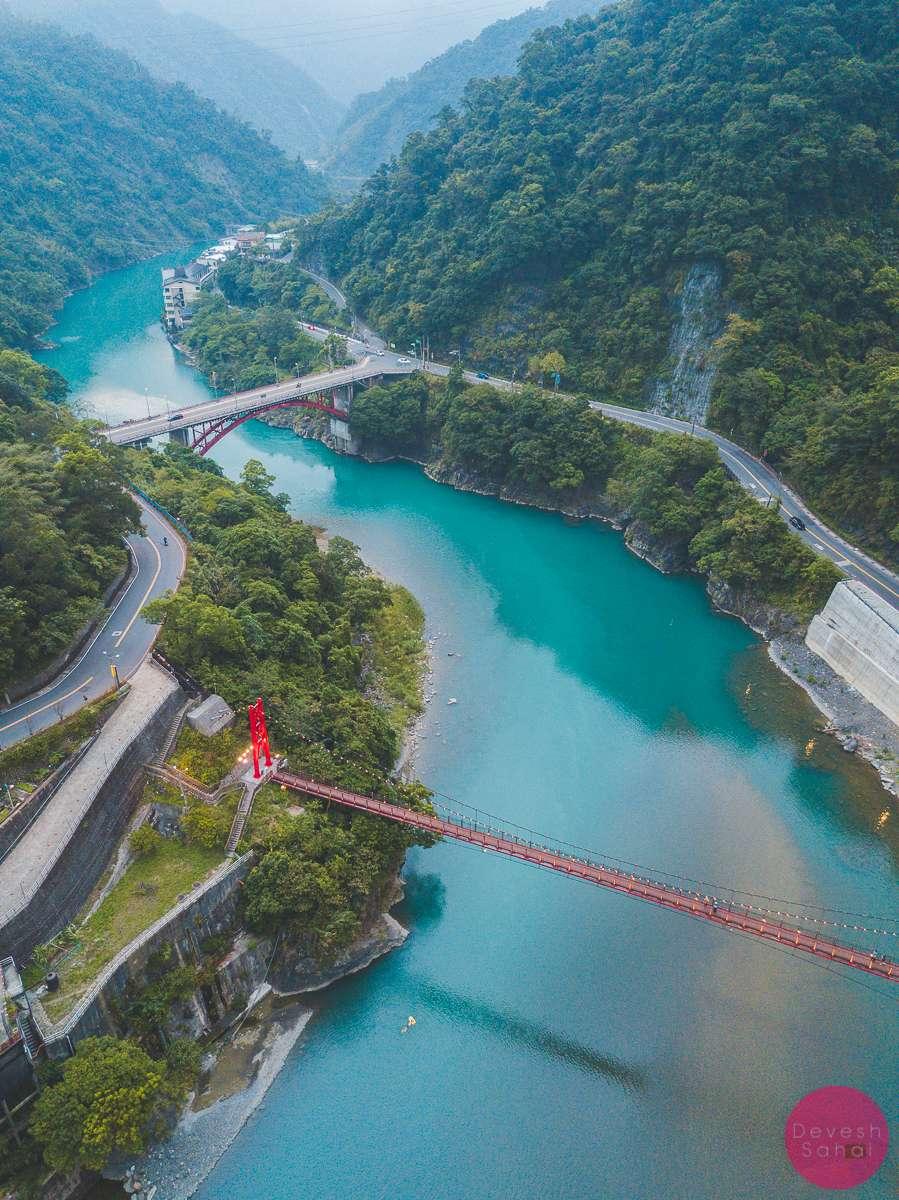 Nanshi River, Wulai