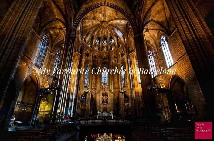 My Favourite Churches In Barcelona