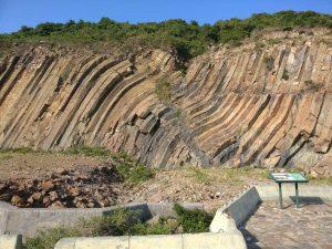 hexagonal rock columns hong kong