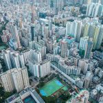 hong kong aerial photo