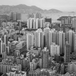 hong kong kowloon aerial photo