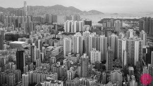 hong kong kowloon aerial photo