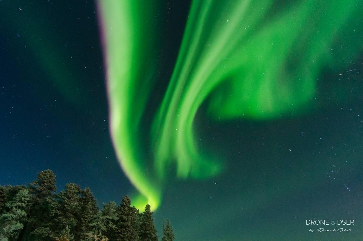 inari lapland northern lights