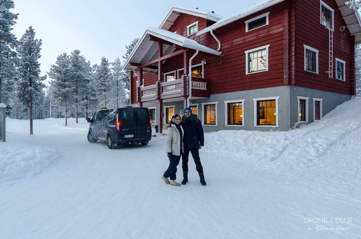 us outside guesthouse husky ivalo, finland