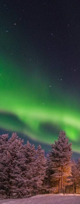 Northern Lights, Lapland, Finland