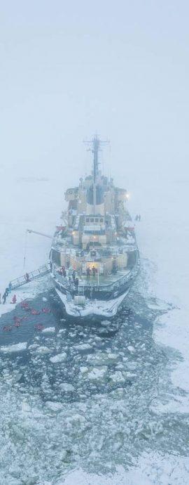 Icebreaker Sampo, Kemi, Finland