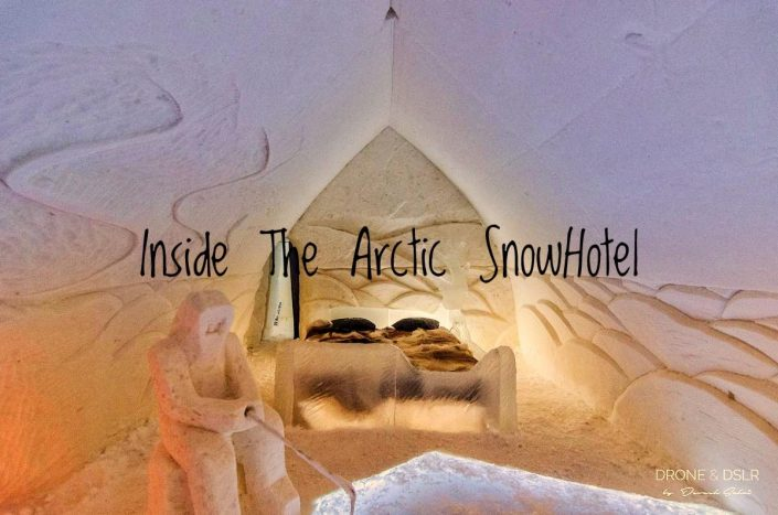 Visiting The Arctic SnowHotel, Rovaniemi